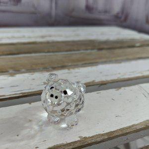 Pig crystal figurine AS IS